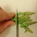 Asparagi taglio punte