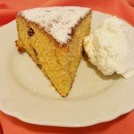 Cake with pumpkin
