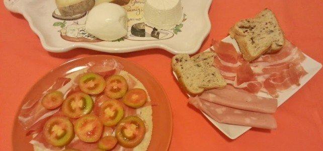 MERENDA CON I NOSTRI PIACERI MEDITERRANEI (senza glutine)