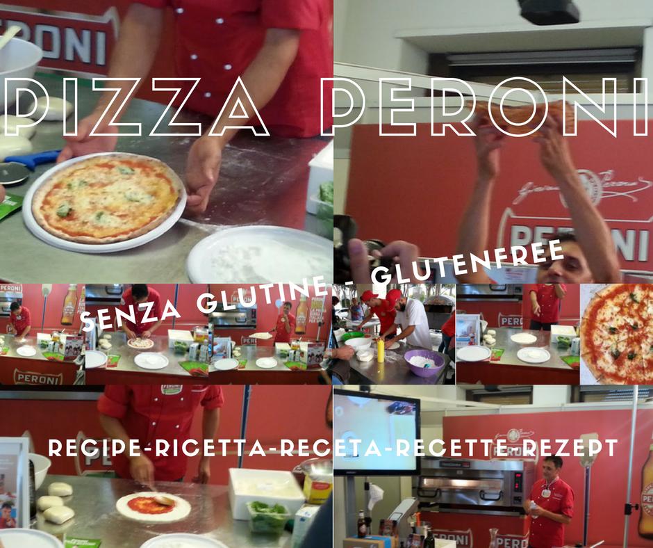Pizza sans gluten Peroni.