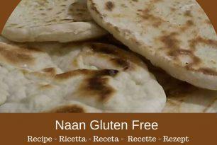 Pane indiano Naan – Ricetta senza glutine