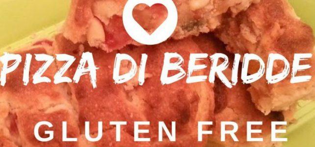 Pizza di Beridde o Pizza Ebraica Di Roma. Gluten Free.