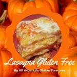 Lasagna con Zucca e Scamorza affumicata. Gluten Free.