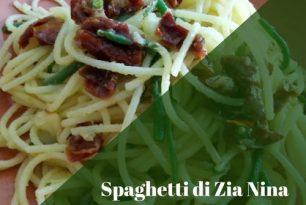 Spaghetti Di  Zia Nina (Gluten Free).