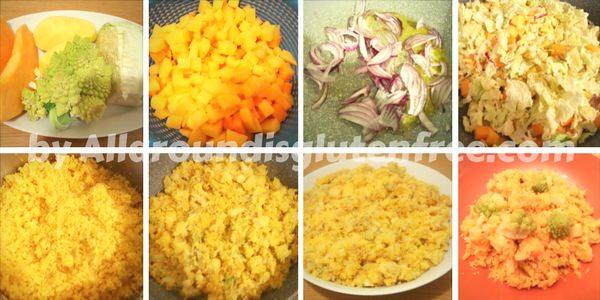 Légumes couscous Inveranali - procédure