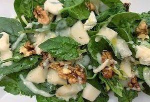 Insalata di Spinaci Crudi e Gorgonzola