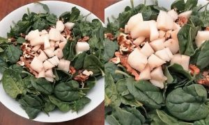 Spinat Raw r Gorgonzola Proce